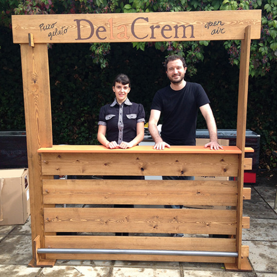 ice cream stand for delacrem.cat
