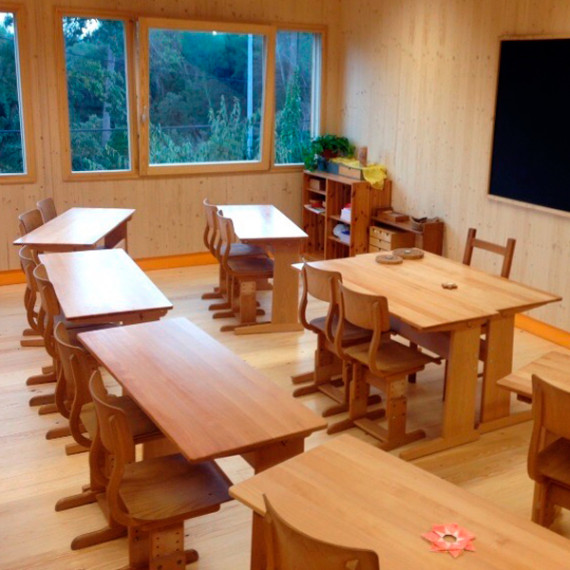 beech tables for waldorf school